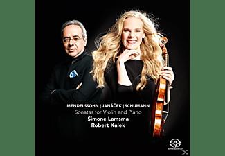 Simone Lamsma - Sonatas For Violin And Piano  - (CD)