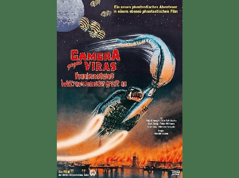 Gamera gegen Viras - Frankensteins Weltraummonster greift an [DVD]