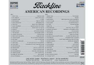 VARIOUS - Backline Vol.250  - (CD)
