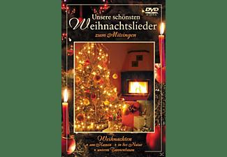 VARIOUS - Unsere schönsten Weihnachtslieder zum Mitsingen  - (DVD)