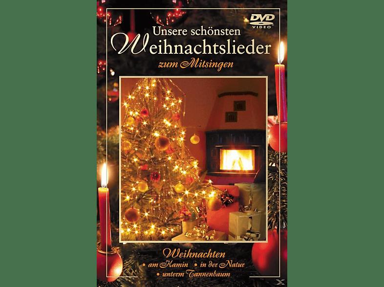 VARIOUS - Unsere schönsten Weihnachtslieder zum Mitsingen [DVD]