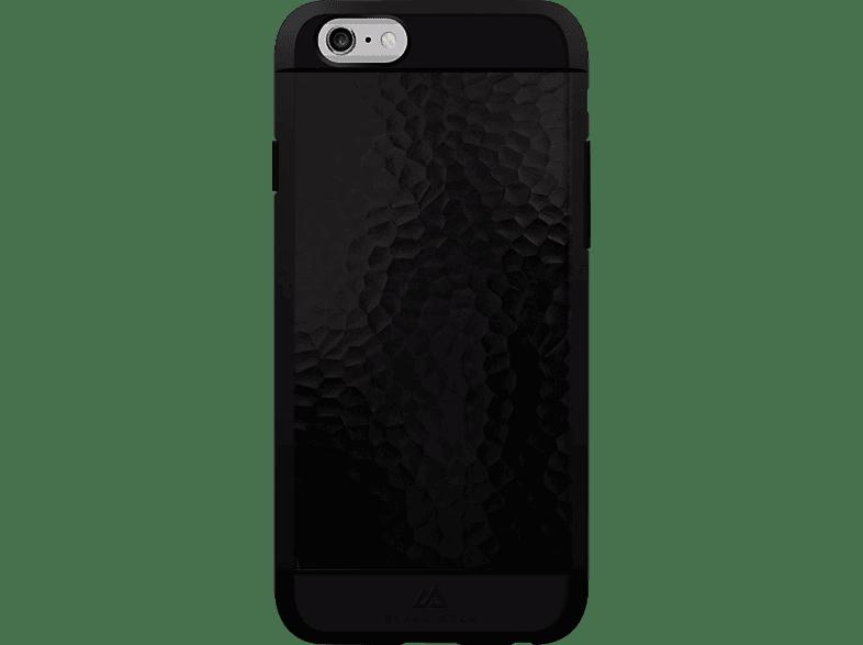 BLACK ROCK Hammered , Backcover, Apple, iPhone 6, iPhone 6s, Kunststoff/Metall/Thermoplastisches Polyurethan, Schwarz