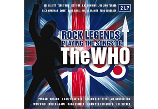 VARIOUS - Rock Legends Playing The Songs Of T  - (Vinyl)