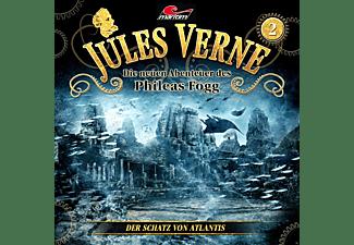 Jules Verne-Die Neuen Abenteuer Des Phileas Fogg - Jules Verne - Die neuen Abenteuer des Phileas Fogg Folge 02: Der Schatz von Atlantis  - (CD)