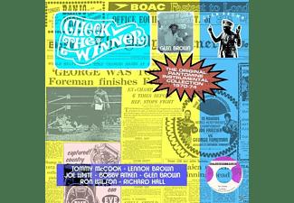 Glen Brown - Check The Winner (1970-1974 Instrumentals)  - (CD)