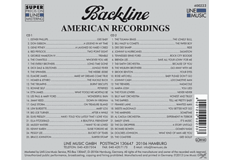 VARIOUS - Backline Vol.223  - (CD)