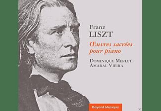 Dominique Merlet, VARIOUS - Geistliche Werke Für Klavier  - (CD)