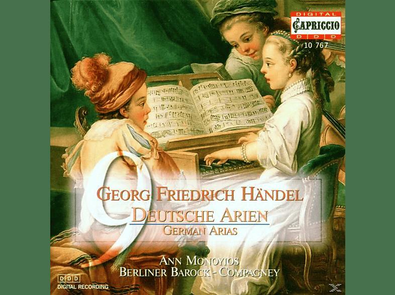 Berliner Barock-compagney Monoyios - 9 Deutsche Arien/Triosonaten [CD]