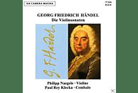 Naegele, Klecka - Violinsonaten Hwv 361/364/368/370-373 [CD]