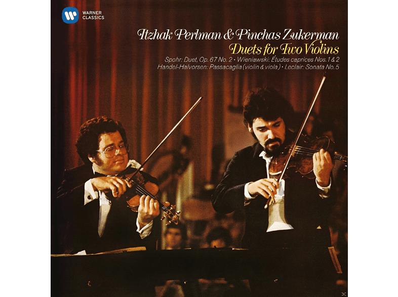Pinchas Zukerman, Itzhak Perlman - Duets For Two Violins [CD]