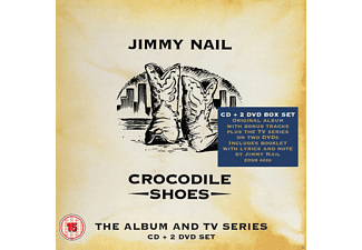 Jimmy Nail - Crocodile Shoes-The Album And Tv Series Box Set  - (CD + DVD Video)