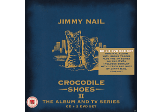 Jimmy Nail - Crocodile Shoes II - The Album And Tv Series (Box Set)  - (CD + DVD Video)
