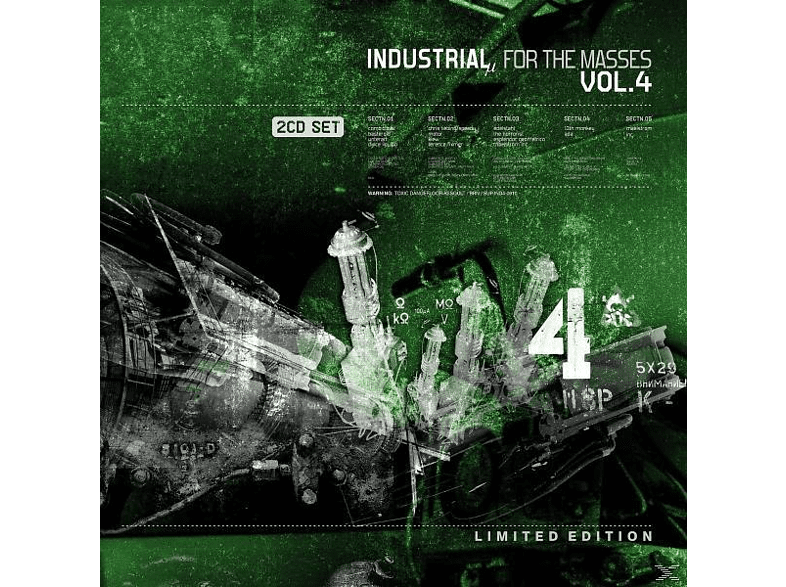 VARIOUS - Industrial For The Masses Vol.4 [CD]