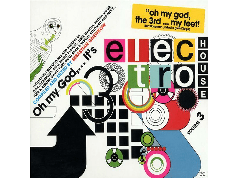 VARIOUS - Oh My God... Its Electro House Volume 3 [CD]