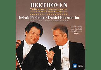 Itzhak Perlman, Daniel Barenboim, Berliner Philharmoniker - Violinkonzert, Romanzen 1 & 2  - (CD)