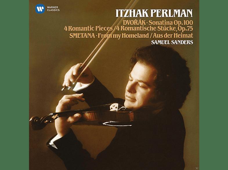 Itzhak Perlman, Samuel Sanders - Sonatina Op.100, 4 Romantische Stücke Op.75, Au [CD]