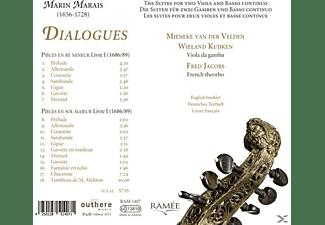 Mieneke Van Der Velden, Wieland Kuijken, Fred Jacobs - Dialogues-Suiten Für Viola Da Gamba  - (CD)