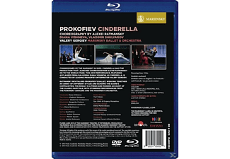 Gergiev/Vishneva/Shklyarov/Mariinsky Orchester/+ - Cinderella (Dvd+Blu-R)  - (DVD)