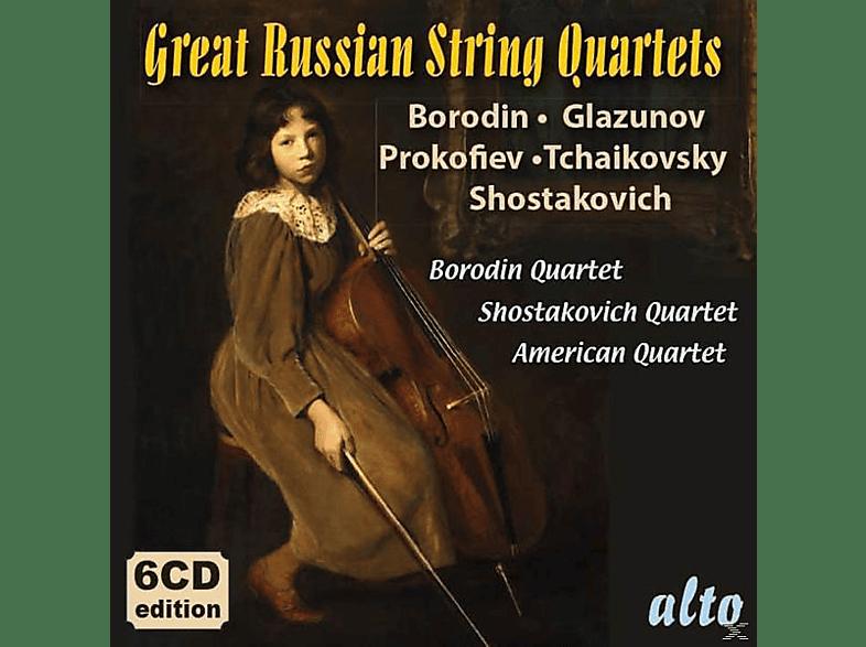 Borodin Quartet/American String Quartet - Great Russian String Quartets [CD]