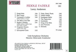Utah Symphony Orchestra - Fiddle Faddle  - (CD)