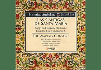 VARIOUS - Las Cantigas De Santa Maria-Lieder & Instr.Musik  - (CD)