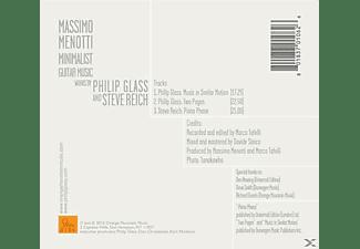 Massimo Menotti - Minimalist Guitar Music  - (CD)