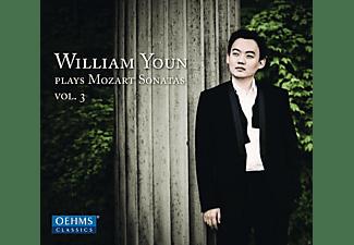 William Youn - Klaviersonaten Kv 279, 331, 533  - (CD)