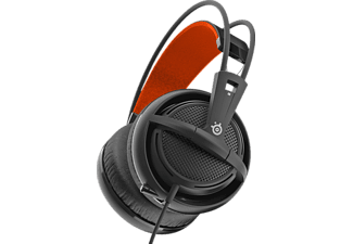 Auriculares Gaming - Steelseries Siberia 200, Micrófono, Negro