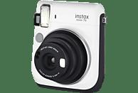 FUJIFILM Instax Mini 70 Sofortbildkamera, Weiß