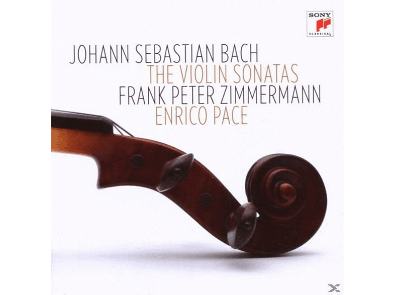 Enrico Pace, ZIMMERMANN,FRANK PETER/PACE,ENRICO - Sonaten Für Violine Und Klavier Bwv 1014-1019 [CD]