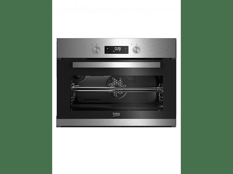 BEKO BCM 12300 X Backofen (Einbaugerät, A+, 48 l, 594 mm breit)