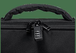 VIVANCO 36985 Advanced Notebooktasche Aktentasche für Universal Nylon, Schwarz