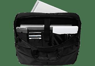 VIVANCO 36979 Business Toploader Notebooktasche Aktentasche für Universal Nylon, Schwarz