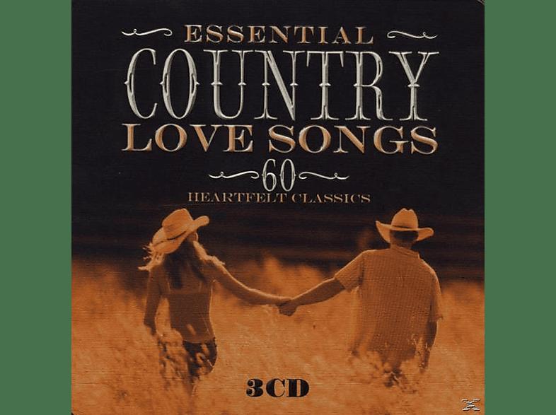 VARIOUS - Essential Country Love Songs (Lim.metalbox Ed.) [CD]