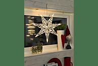 KONSTSMIDE 6110-103 Stern LED Acryl,  Transparent,  Warmweiß