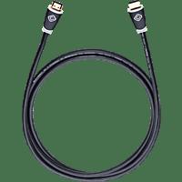 OEHLBACH 127 High-Speed-HDMI-Kabel, Schwarz