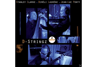 Ponty Clarke Lagrene - D-Stringz  - (CD)