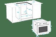 BEKO BIM15500XPS Multifunktionsbackofen (Einbaugerät, A, 71 l, 594 mm breit)