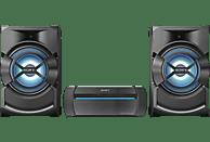 SONY SHAKE-X1 HiFi Kompaktanlage (CD-R, CD-RW, DVD+R/R DL/RW, DVD-RW, VCD, Schwarz)