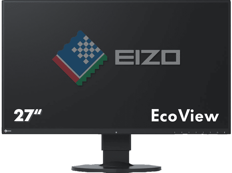 EIZO EV2750-BK 27 Zoll WQHD Monitor (5 ms Reaktionszeit, 60 Hz)