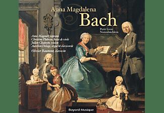 Olivier Baumont, Anne Magouet, Christine  Plubeau, VARIOUS - Petit Livre D'anna Magdalena Bach  - (CD)