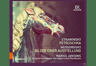 Symphonieorchester Des Bayerischen Rundfunks - Petruschka/Bilder Einer Ausstellung  - (CD)