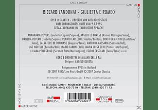 Coro E Orch.Di Milano Della RAI - Giulietta E Romeo  - (CD)