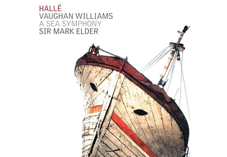 Sir Mark Elder, VARIOUS, The Halle Orchestra - A Sea Symphony  - (CD)