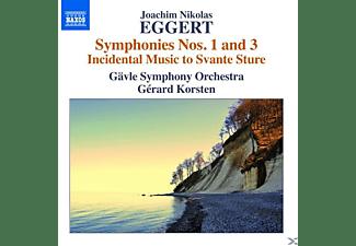 Gerard Korsten, Gavle Symphony Orchestra - Sinfonien 1 & 3  - (CD)