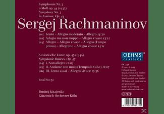 Dmitri Kitajenko, Gürzenich-Orchest Köln - Sinfonie 3/Sinfonische Tänze Op.45  - (CD)