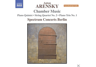 Spectrum Concerts Berlin - Klavierquint./Streichquar.2/Klaviertrio 1  - (CD)