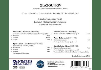 Hideko Udagawa, London Philharmoic Orchestra, VARIOUS - Konzerte Für Violine Und Orchester  - (CD)