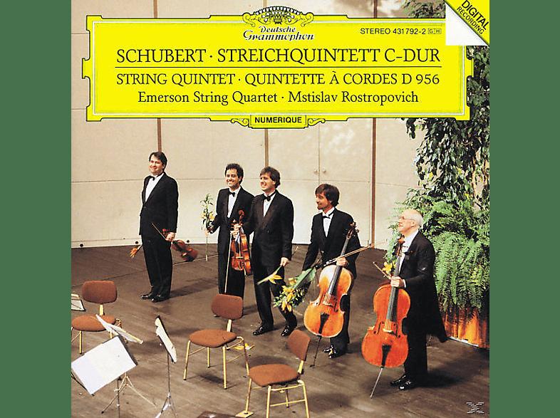 Emerson String Quartet, Mstislav/emerson Quartet Rostropowitsch - Streichquintett D 956 [CD]