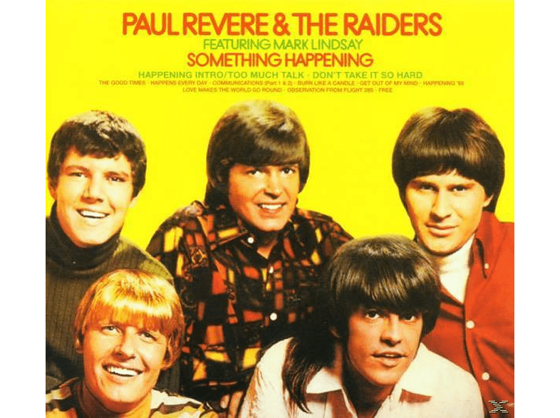 Paul Revere & the Raiders - Something Happening [CD]